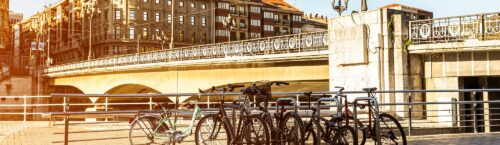 fietsen in bilbao